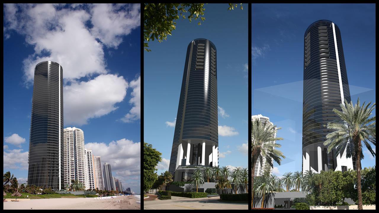 Porsche Tower Sunny Isles Beach Miami Vip Miami